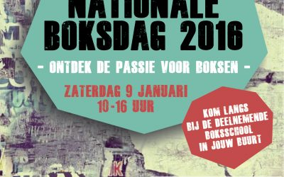 Nationale Boksdag 2016