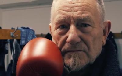 One minute portret van Leeuwarder bokslegende Piet Rozendaal